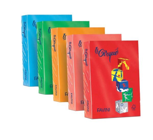 Carta colorata le Cirque - A4 - ARANCIO TROPICO