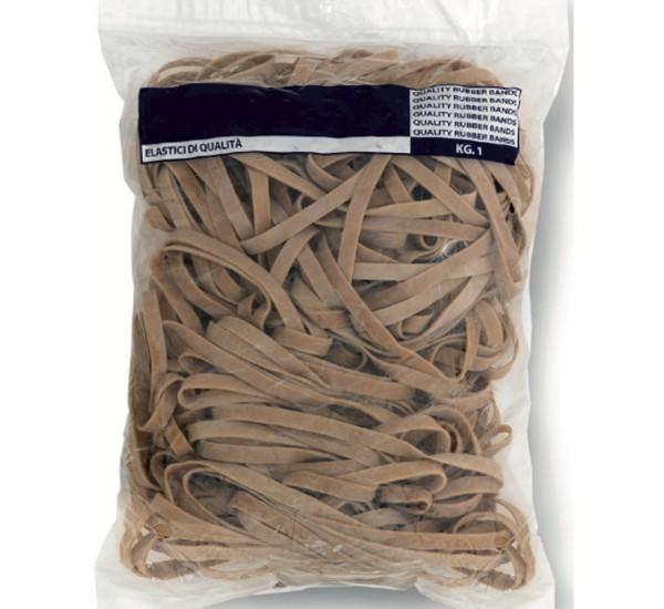 Elastici a fettuccia in caucci&ugrave -  100 mm