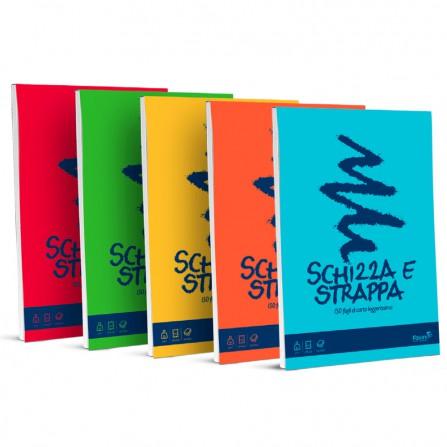 Blocco Schizza & Strappa - A5