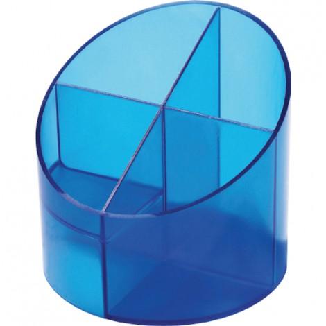 Bicchiere Portapenne - Blu traslucido