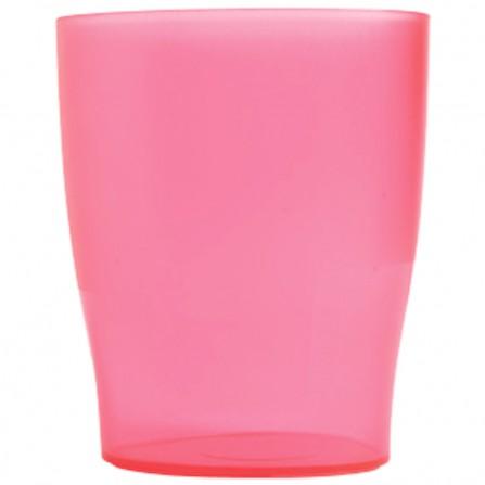 Bicchiere Exacompta - Rosa traslucido