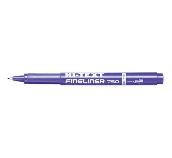Fineliner hitext 750 - Blu