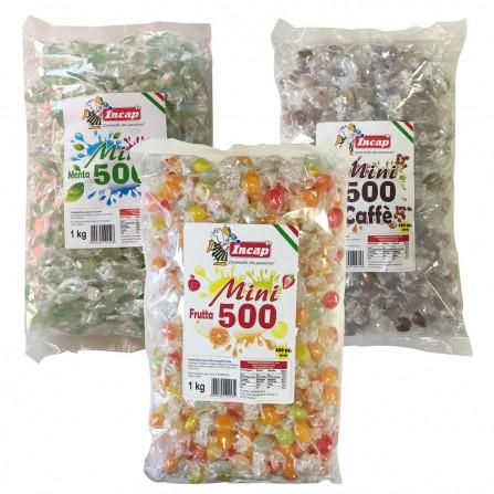 Mini 500 Caramelle gusto menta